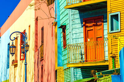 Buenos Aires Colors Print by Jess Kraft