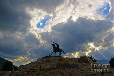 Buffalo Bill Monument Print by John Malone