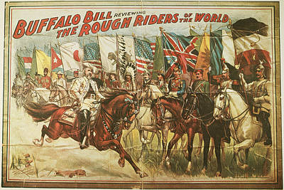 Buffalo Bill Poster, 1902 Print by Granger