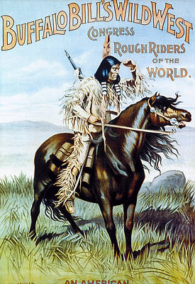 Buffalo Bill Poster, C1894 Print by Granger