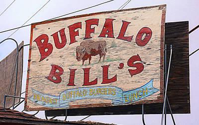 Buffalo Bills Print by Ron Regalado