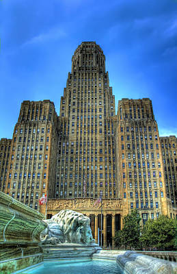 Cities Digital Art - Buffalo City Hall by Tammy Wetzel