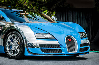 Special Edition Photograph - Bugatti Legend - Veyron Special Edition -0844c by Jill Reger
