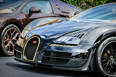 Special Edition Photograph - Bugatti Legend - Veyron Special Edition -0845c by Jill Reger
