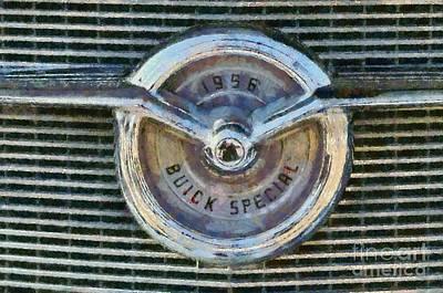 1956 Buick Special Print by George Atsametakis