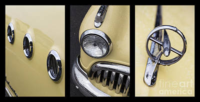 Buick Triptych Print by Dennis Hedberg