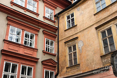 Prague Photograph - Building Connections by John Rizzuto