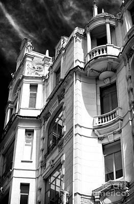 Porto Photograph - Building Curves by John Rizzuto