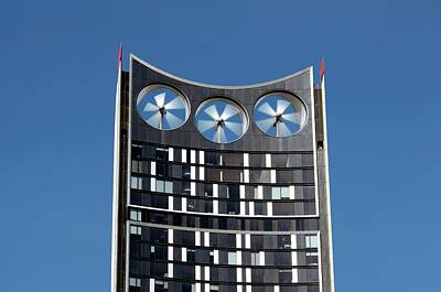 Integrated Photograph - Building-integrated Wind Turbines by Martin Bond