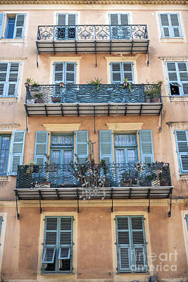 Iron Photograph - Building With Balconies by Elena Elisseeva