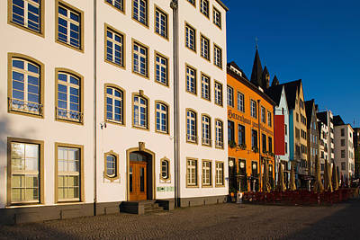 Buildings Along Frankenwerft Print by Panoramic Images