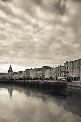 Buildings At The Waterfront, Old Port Print by Panoramic Images
