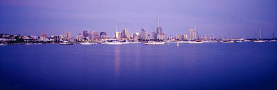 Panoramic Of San Diego Photograph - Buildings At The Waterfront, San Diego by Panoramic Images