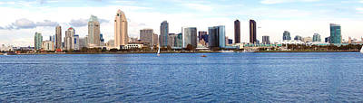 Coronado Island Photograph - Buildings At The Waterfront, View by Panoramic Images