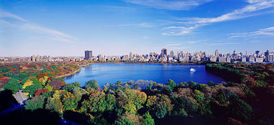 Urban Scenes Photograph - Buildings In A City, Central Park by Panoramic Images