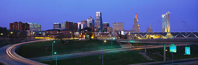 Buildings In A City, Kansas City Print by Panoramic Images