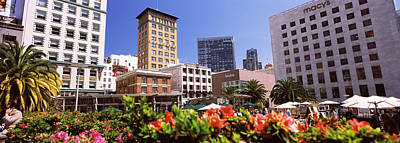Union Square Photograph - Buildings In A City, Union Square, San by Panoramic Images