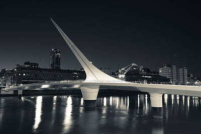Buenos Aires Photograph - Buildings With A Footbridge by Panoramic Images