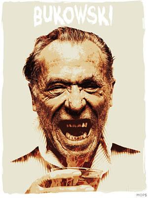 Bukowski Print by Jessica Echevarria