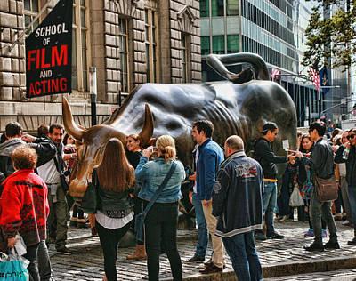 Bull Rush Print by Allen Beatty