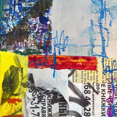 Avant Garde Mixed Media - Bulletin Board by Elena Nosyreva