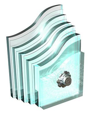 Bulletproof Glass Print by Mikkel Juul Jensen