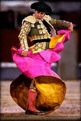 Bullfighter Dance Print by Bruce Nutting