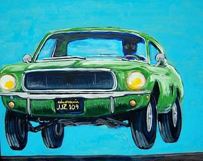 Bullitt Mustang Original by Mitchell McClenney