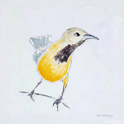 Wild Orchards Painting - Bullock's Oriole No 1 by Ben and Raisa Gertsberg