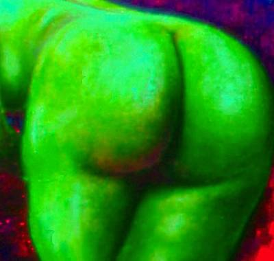 Genio Mixed Media - Bum With Vegetable Ass-ociations by Genio GgXpress