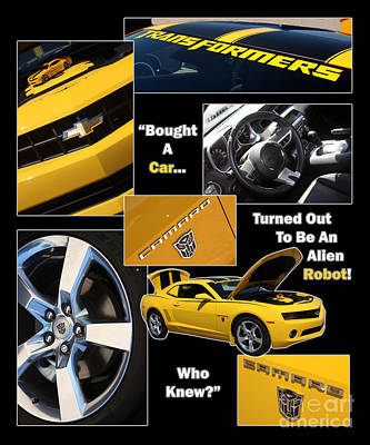 Bumble Bee-robot - Poster Print by Gary Gingrich Galleries