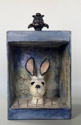 Mixed Media - Bunners by Susan McCarrell