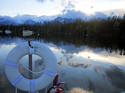 Grand Teton Photograph - Buoy Of Life by Mike Podhorzer