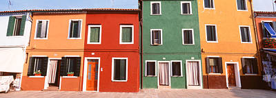 Burano, Venice, Italy Print by Panoramic Images