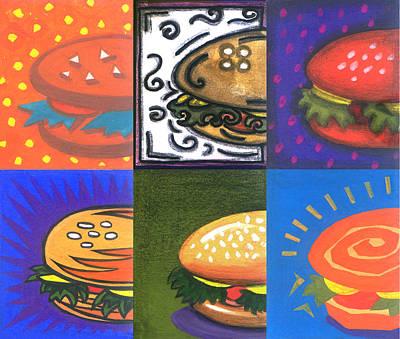 Burger Joint Print by Renu K