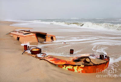 Buried Treasure On The Outer Banks II Print by Dan Carmichael