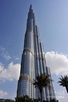 Gicl Photograph - Burj Khalifa 1 by Graham Taylor