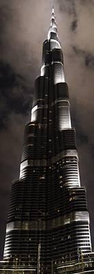 Burj Khalifa Print by Corinne Rhode