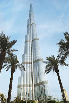 Burj Khalifa Print by Jelena Jovanovic