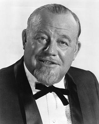 Burl Photograph - Burl Ives In The Hollywood Palace  by Silver Screen