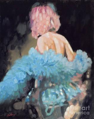 Burlesque I Print by John Silver