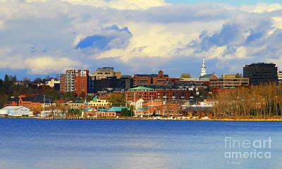 Burlington Vermont Lakefront Print by Deborah Benoit