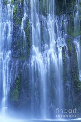 Flowing Wells Photograph - Burney Falls Mist Mcarthur Burney Sp California  by Dave Welling