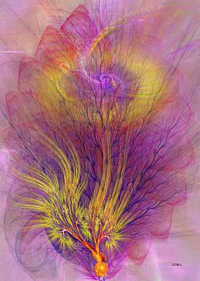 Burning Bush Digital Art - Burning Bush by John Robert Beck