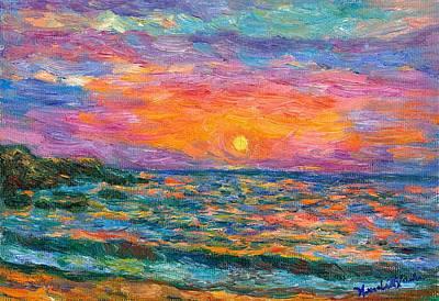 Burning Shore Original by Kendall Kessler
