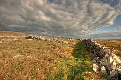 Burren Stone Walls Original by John Quinn