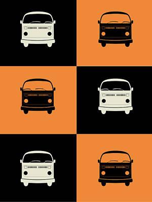 Bus Poster Print by Naxart Studio