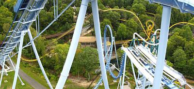 Drop Photograph - Busch Gardens - 121226 by DC Photographer