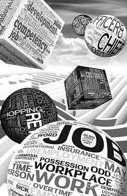 Business Related Concepts Poster Print by Stefano Senise