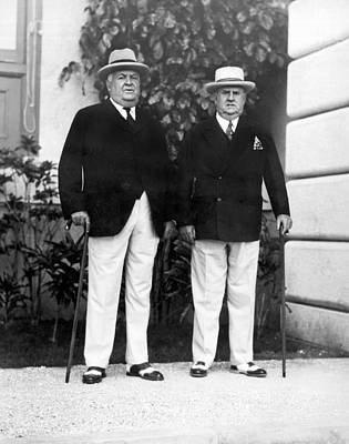 Stiff Photograph - Businessmen In Havana by Underwood Archives